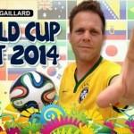 Danh hài Rémi Gaillard và 32 đội tuyển World Cup 2014