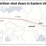 Vì sao chuyến bay MH17 lại bay qua Ukraine khói lửa chiến tranh?