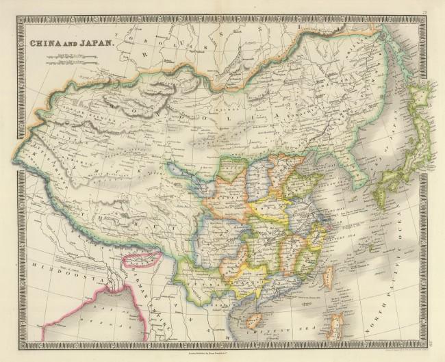China_and_Japan,_John_Nicaragua_Dower_(1844)