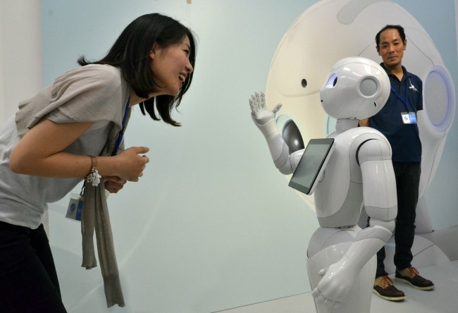 JAPAN-LIFESTYLE-TECHNOLOGY-ROBOTICS-OFFBEAT