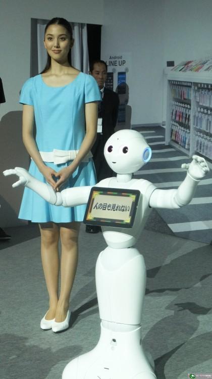 Humanoid Robot Pepper-02