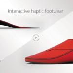 Đôi giày thông minh có tính năng tương tác
