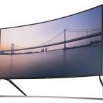 HDTV 4K màn hình cong 105 inch đầu tiên của thế giới