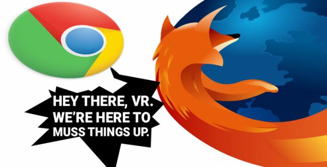 Virtual Reality-chrome-firefox