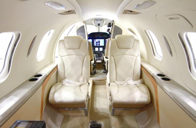 Fifth FAA-Conforming HondaJet - Interior
