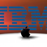 """Hai """"ông lớn"""" công nghệ Apple và IBM tay trong tay"""