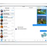 Ứng dụng chat Facebook Messenger đã có trên iPad