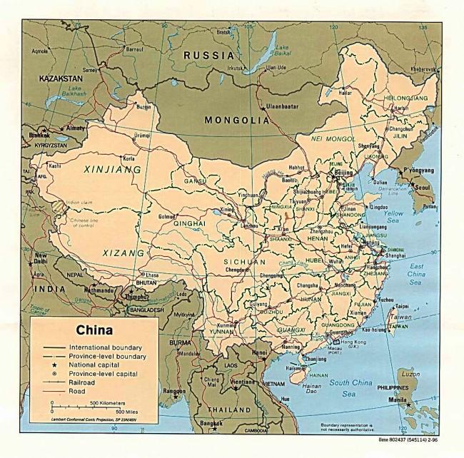 map_china