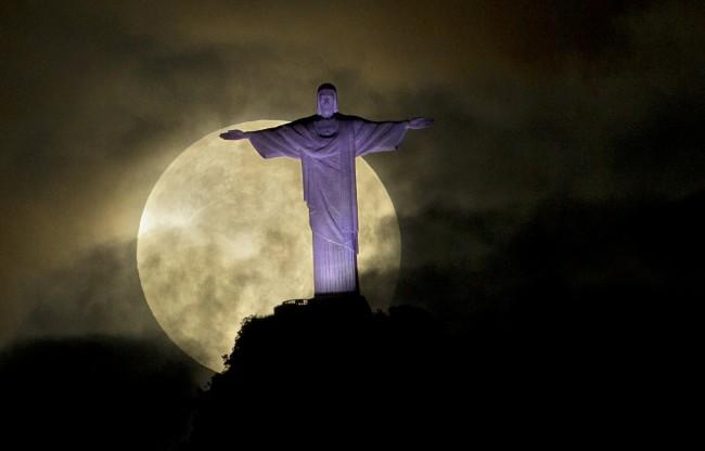 Brazil Supermoon