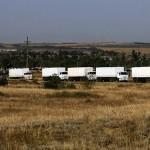 Xong chuyện xe tải Nga chở hàng cứu trợ cho Ukraine