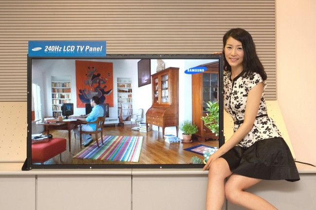 240Hz LCD TV Panel