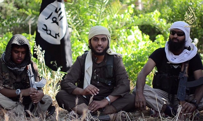 British jihadist in video