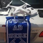 Quảng cáo trên thiết bị bay không người lái