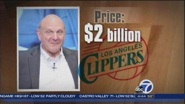 Steve Ballmer -clippers