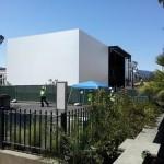 Tòa nhà bí ẩn của Apple cho sự kiện ra mắt iPhone 6