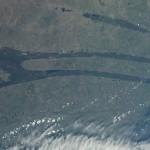 Các phi hành gia trên Trạm ISS một phen lúng túng vì nhìn thấy cảnh lạ dưới Trái đất