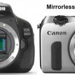 Thời của máy ảnh không gương lật