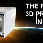 Chiếc máy in 3D đầu tiên đã được đưa lên vũ trụ