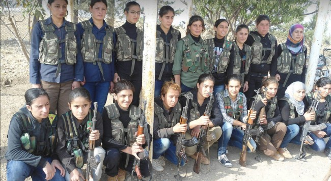 Female Kurdish fighters-syria-10