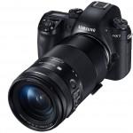 Máy ảnh Samsung NX1 Smart Camera lấy nét tự động cực nhanh và thông minh
