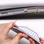 "Cái ""gót chân Achilles"" khiến iPhone 6 Plus dễ bị bẻ cong"