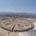 """""""Con tàu không gian"""" mới của Apple nhìn từ drone"""