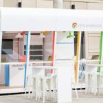 Google mở quầy cho sinh viên mượn laptop Chromebook