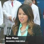 Nina Phạm cùng các thầy thuốc Mỹ đã chiến thắng Ebola