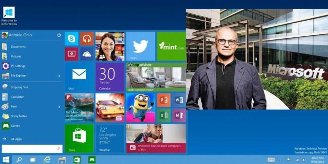 Satya Nadella-microsoft-windows10