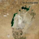 Dùng vệ tinh phát hiện hồ lớn thứ 4 của Trái đất đã bị cạn khô
