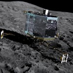 Tàu đổ bộ sao chổi Philae đã ngủ đông