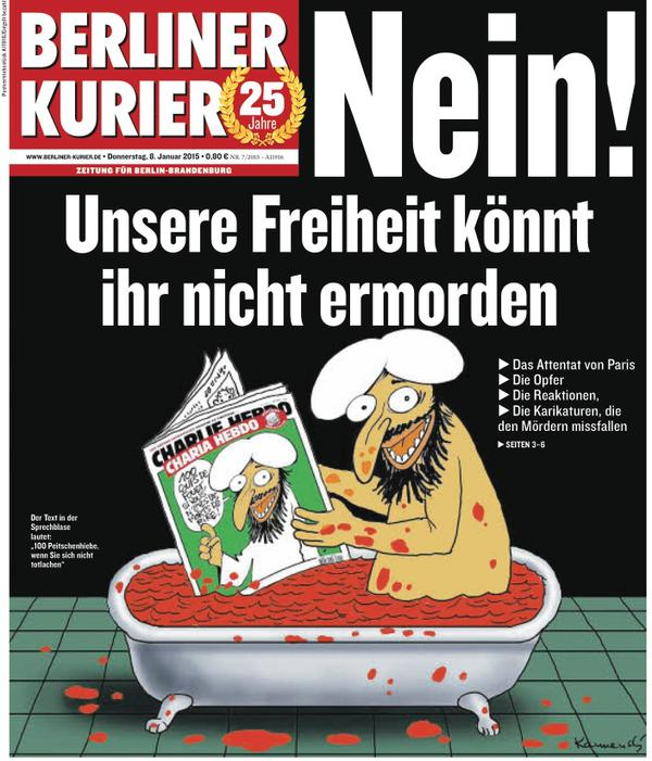 150107-newspaper Charlie Hebdo attacked-14