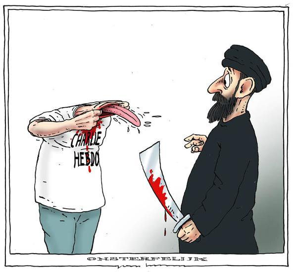 150107-newspaper Charlie Hebdo attacked-17