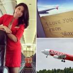 """THẢM KỊCH CHUYẾN BAY QZ8501: """"Em yêu anh từ độ cao 38.000 feet"""""""