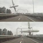 VIDEO: Máy bay rơi xuống sông sáng 4-2-2015 tại Đài Loan
