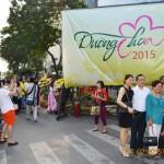 Nào cùng du lịch quá giang qua ống kính: Đường Hoa Hàm Nghi Tết Ất Mùi 2015