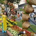 Du lịch qua ảnh: Đường Hoa Hàm Nghi Tết Ất Mùi 2015 (Phần 2/5)