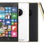 Phiên bản màu Gold của smartphone Microsoft Lumia 830 lên kệ ở Việt Nam từ 3-2-2015 giá 7.990.000 đồng