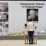 Người dân Singapore ngậm ngùi tiễn đưa ông Lý Quang Diệu