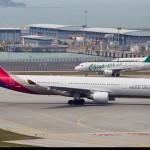 Máy bay Asiana Airlines rước lộn hành khách
