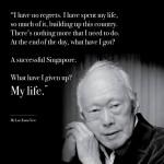 Khoảng trống để lại phía sau nhân vật huyền thoại Singapre Lý Quang Diệu