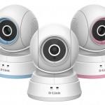 D-Link Baby Camera DCS-850L: camera quay ngang, quét dọc