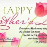Chúc mừng Ngày của Mẹ