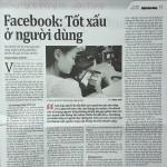 Facebook tốt xấu tùy ở người dùng