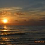 Hoàng hôn trên bãi biển Marco Island (Florida, Hoa Kỳ)