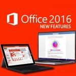 Microsoft Office 2016 chính thức xuống núi