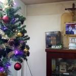 Trang trí cây thông Noel mừng sinh nhật Bà Nội 12-2015