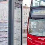 London thử nghiệm biển thông tin trạm xe buýt dùng mực e-ink