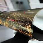 Màn hình 18 inch có thể cuộn lại như tờ báo