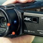 Handycam 4K FDR-AXP55, camcorder đỉnh mới của Sony
